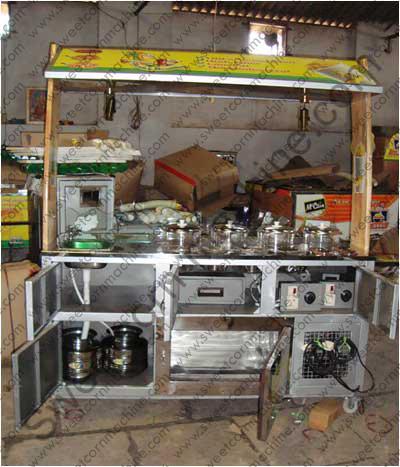 sweet corn steamer machine